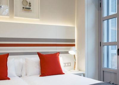 Exterior double room with balcony Hotel Donostia-San Sebastián LegazpiDoce detalle 001