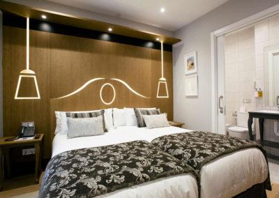 Habitación doble interior Hotel Donostia-San Sebastián LegazpiDoce-001