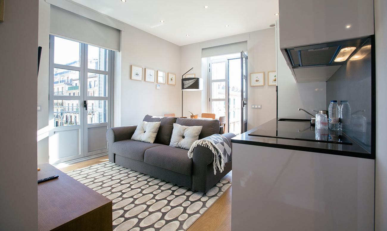 Exterior Studio Suites with balcony Hotel Donostia-San Sebastián Legazpidoce 002