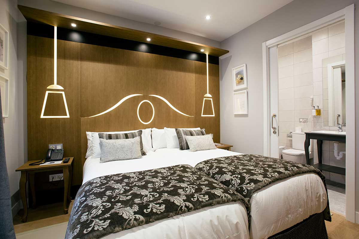 Studio Suite Exterior con Balcón Hotel Donosta-San Sebastián Legazpidoce 000
